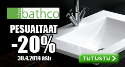 Bathcon pesualtaat -20% - Netrauta.fi