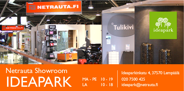 Netrauta.fi Ideapark Showroom