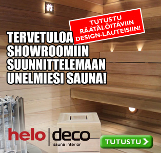 Ideaparkin Showroomissa Helo Center