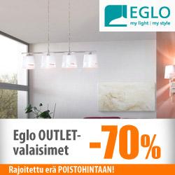 Eglon POISTOALEssa valaisimia -70%