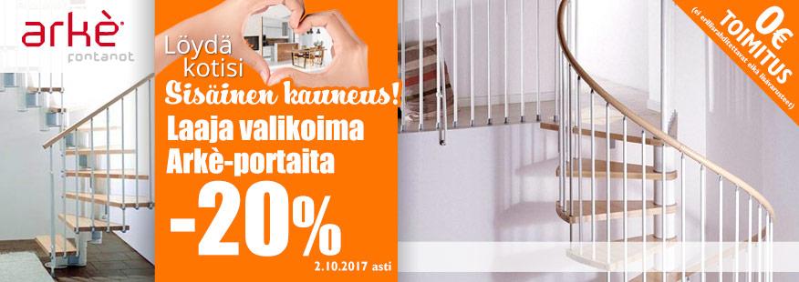 Arke-portaita -20%