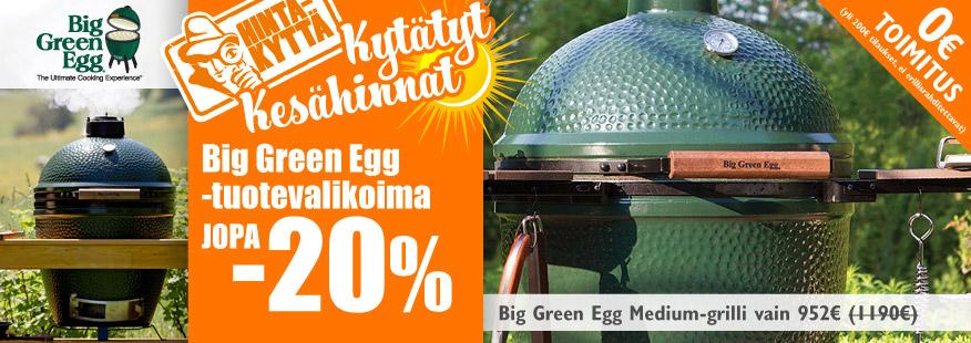 Big Green Egg -tuotteet -20%