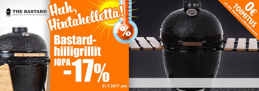 The Bastard-grillit jopa -17%