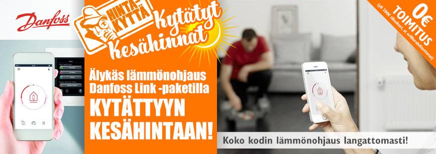 Dannfoss Link - Älykäs lämmönohjaus!