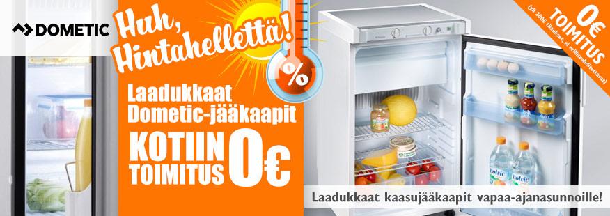 Dometic-kylmälaitteita kesähintaan!