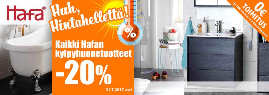 Kaikki Hafa-tuotteet -20%