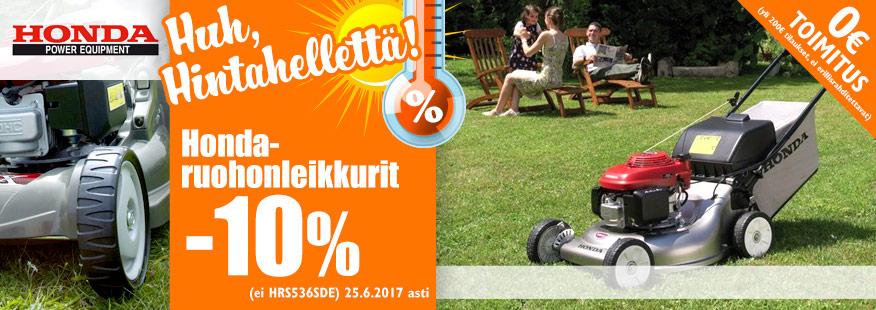 Honda-ruohonleikkurit -10%