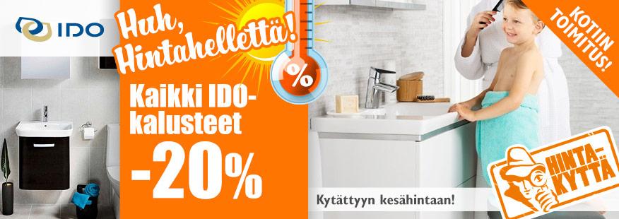 IDO-kylpyhuonekalusteet -20%