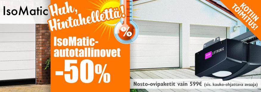 Isomatic-autotallinovet -50%