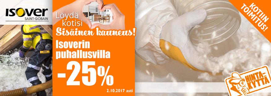 Isoverin puhallusvilla -25%