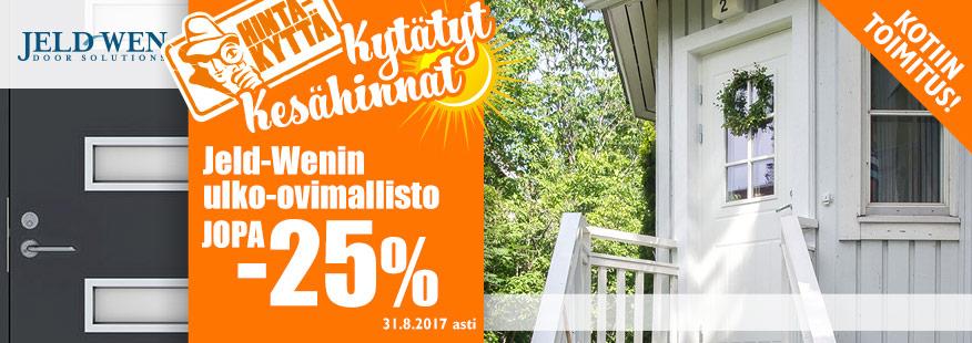 Jeld-Wenin ulko-ovet jopa -25%