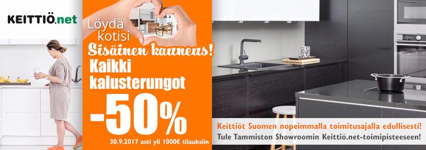 Keittiö.net-kalusterungot -50%