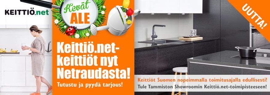 Keittiö.net-keittiöt edullisesti Netraudasta!