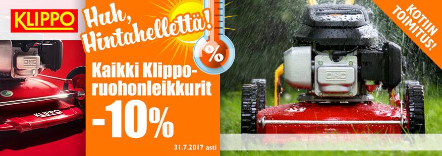 Klippo-leikkurit -10%