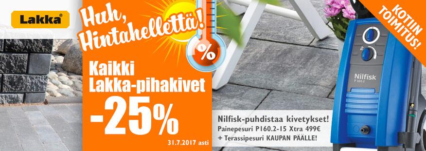 Lakka-pihakivet -25%