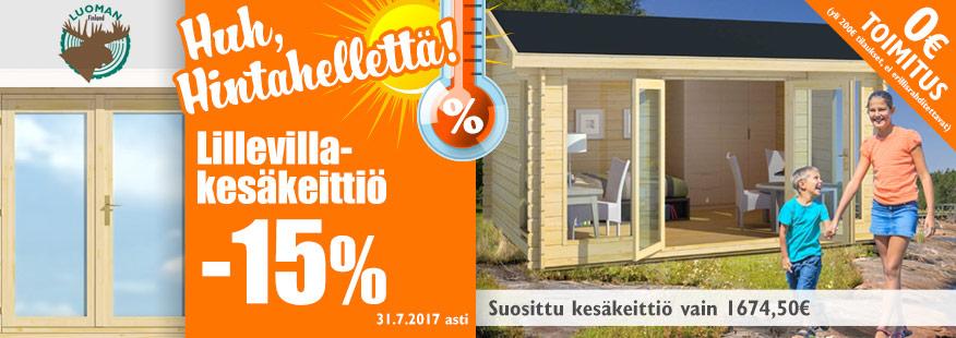 Luoman Lillevilla kesäkeittiö -15%