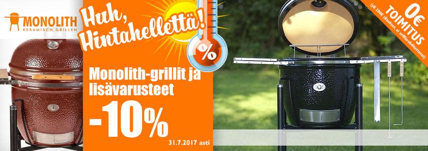 Monolith-grillit -10%