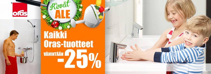 Kaikki Oras-tuotteet vähintään -25%