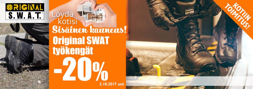 Original SWAT -työkengät -20%