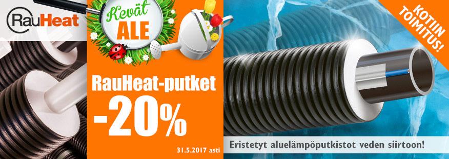 RauHeat-putket -20%