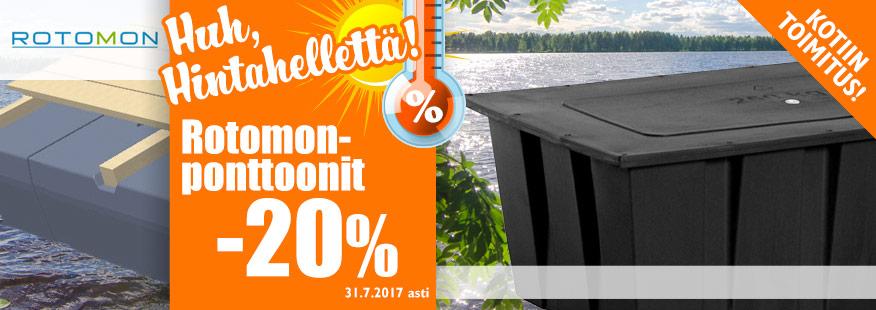 Rotomon-ponttonit -20%