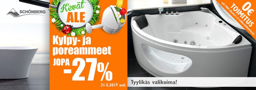 Schönberg kylpy- ja poreammeita jopa -27%