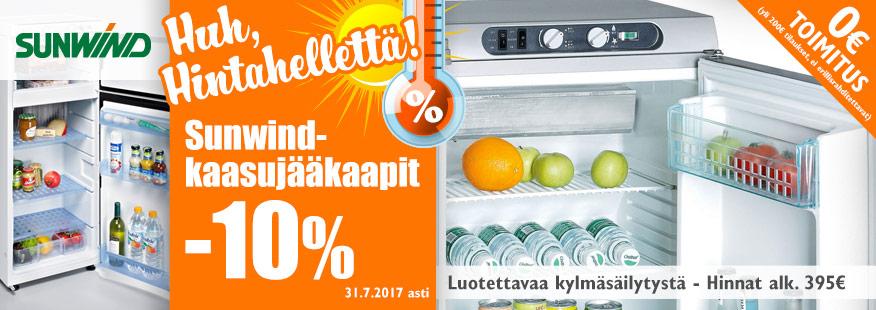 Sunwind kaasujääkaapit -10%