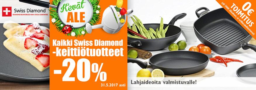 Kaikki Swiss Diamond -tuotteet -20%