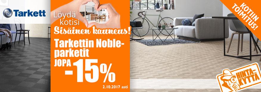 Tarkett Noble -laminaatit jopa -15%