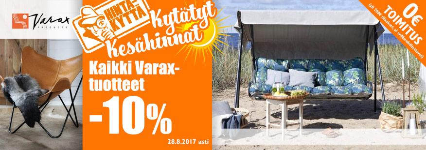 Kaikki Varax-tuotteet -10%