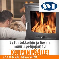 SVT:n takkoihin ja liesiin muurinpohjapannu kaupan päälle!