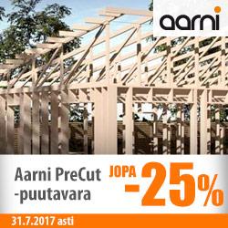 Aarni PreCut-puutavara jopa -25%