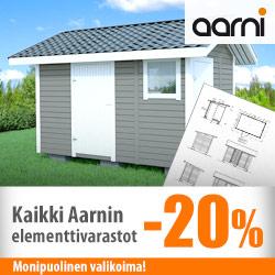 Aarni-elementtivarastot -20%