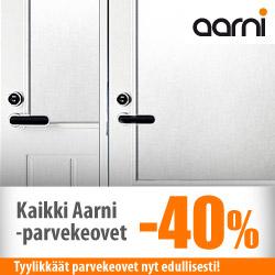 Kaikki Aarnin parvekeovet -50%