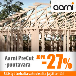Aarni PreCut-puutavara jopa -27%