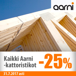 Aarnin kattoristikot -25%