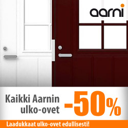 Kaikki Aarnin ulko-ovet -50%