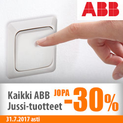 ABBn Jussi-tuotteet jopa -30%