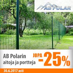 AB Polarin aitoja ja portteja jopa -25%
