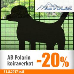 AB Polarin koiraverkot -20%