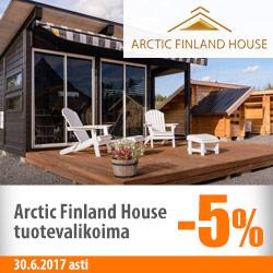 Arctic Finland House -piharakennukset -5%