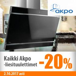 Kaikki Akpo-liesituulettimet -20%