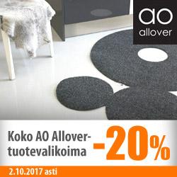 Kaikki AO Allover -tuotteet -20%