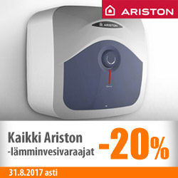 Ariston-lämminvesivaraajat -20%