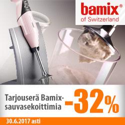 Erä Bamix-sauvasekoittimia -32%