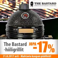 Basterd-hiiligrillit jopa -17% + mahtavia kaupan päällisiä!