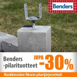 Benders-pilarituotteet jopa -30%
