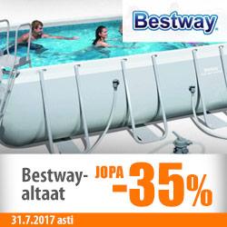 Bestway-altaat jopa -25%