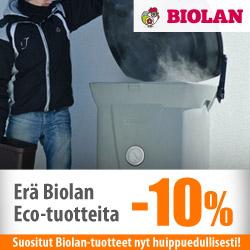 Erä Biolan Eco-tuotteita -10%