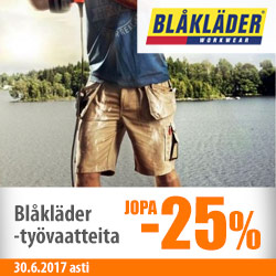 Erä Blåkläder-työvaatteita jopa -25%